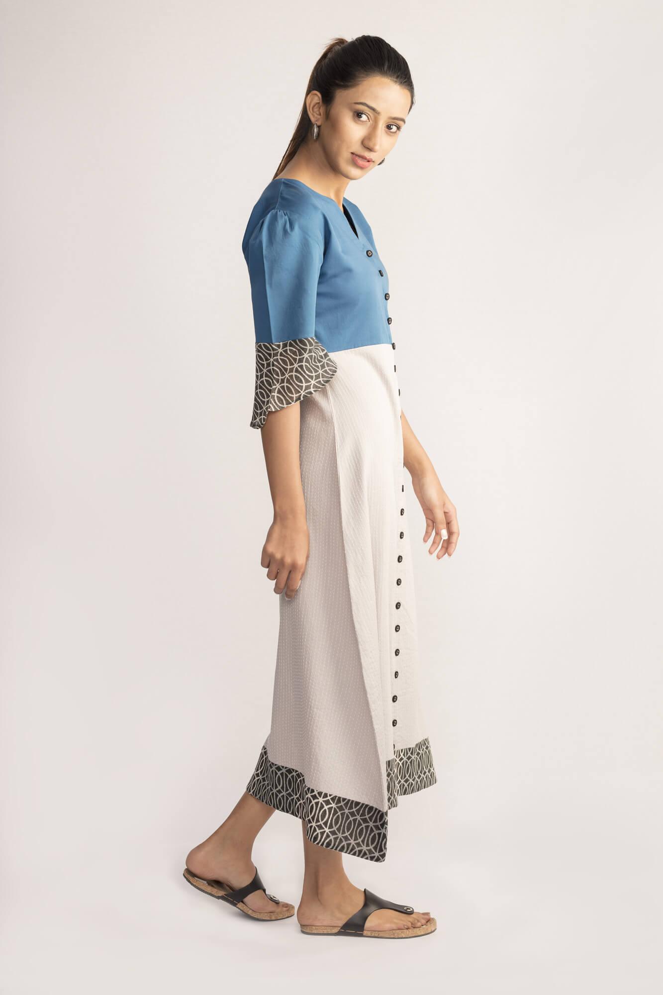 Blue Long Dress By TAMASQ