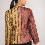 Block Printed Silk Jacket By TAMASQ