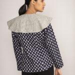 Ikat Collared Jacket By TAMASQ