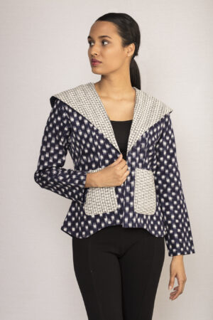 Ikat Collared Jacket By TAMASQ