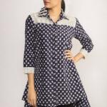 Ikat Tunic Shirt By TAMASQ