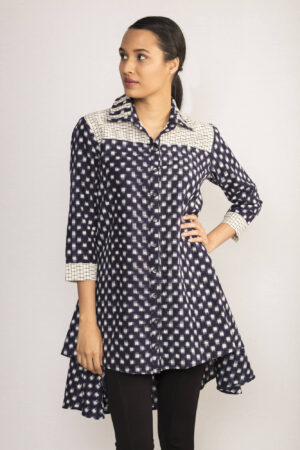 Ikat Tunic Shirt By TAMASQ